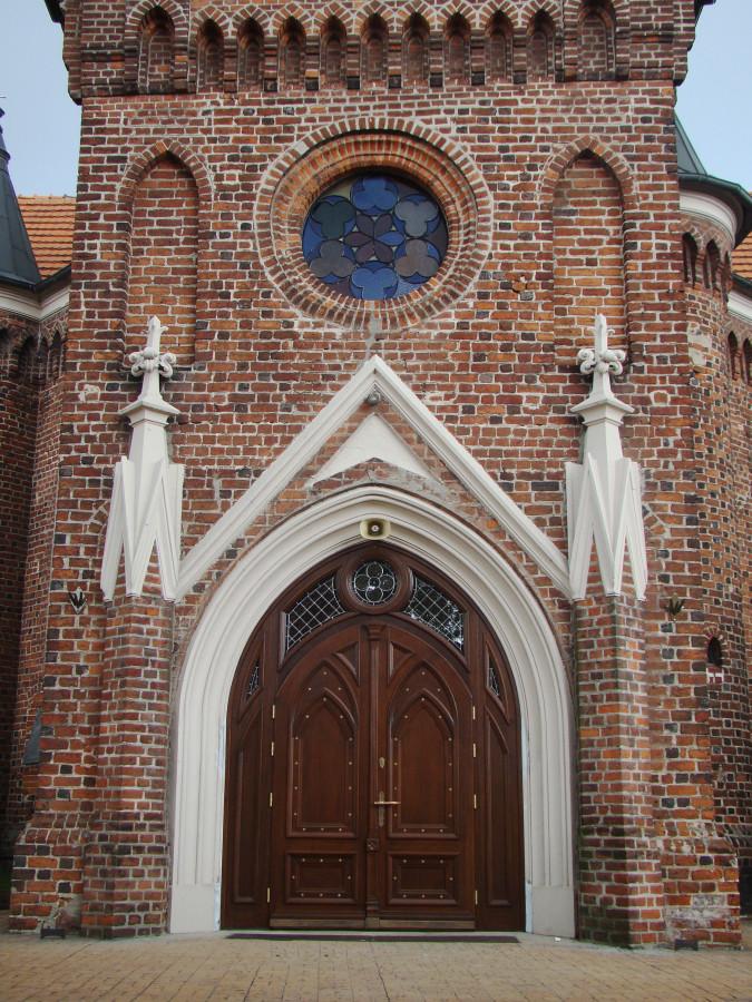 Drzwi kościoła św. Andrzeja – Konin-Gosławice