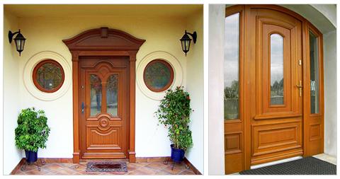 Drzwi drewniane - Stolarstwo Marek Mazur
